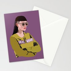 Feminist (Purple) Stationery Cards