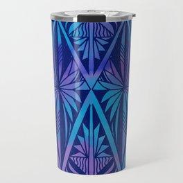 Tapa/Siapo Polynesian bark cloth art (Samoan) Travel Mug