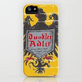 Dunkler Adle iPhone Case