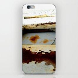 A Little Bit Rusty iPhone Skin