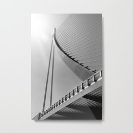 Assut de l'Or Bridge Metal Print