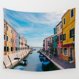 Color House Wall Tapestry