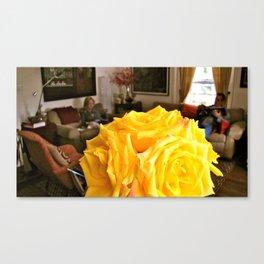 friendship rose Canvas Print