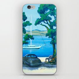 Of Boats and Summer iPhone Skin
