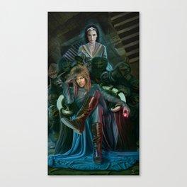 Return To Labyrinth Canvas Print