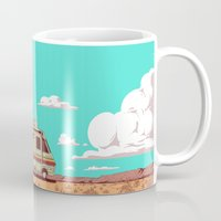 lab Mugs featuring Lab by Mikhail Kalinin