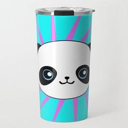 Wild Rockstar Panda Travel Mug