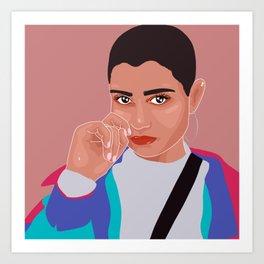 @_andylemon Art Print