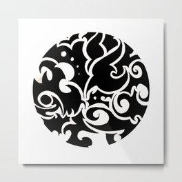 Tattooed Millionaire Metal Print