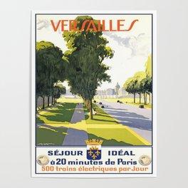 Vintage poster - Versailles Poster