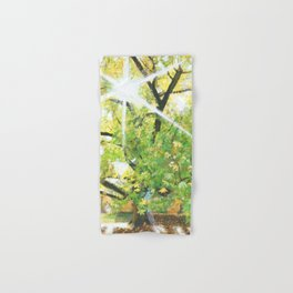 Sunlit Tree Hand & Bath Towel