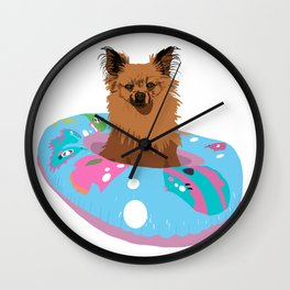 Rocco's dinner cruise Wall Clock