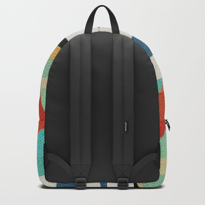Sailing on a Raging Sea Backpack
