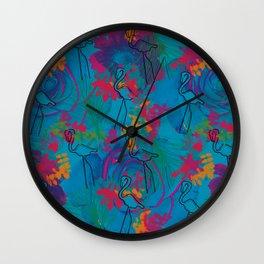 Tropic - Psychotropical Wall Clock