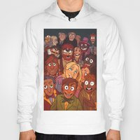 muppets Hoodies featuring The Muppets by Groovy Bastard