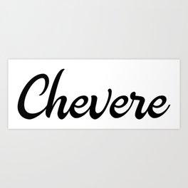 Chevere Venezuela  Design Art Print