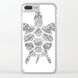 tortoise Clear iPhone Case