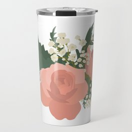 Rustic Flowers Travel Mug