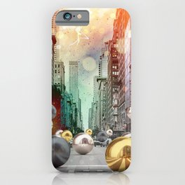 New York City Spill iPhone Case