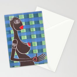 inside me / just a girl Stationery Cards