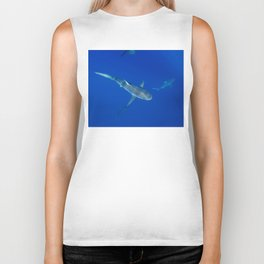 Hawaiian Shark VI Biker Tank