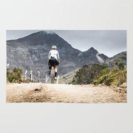 Ride to the peak Rug