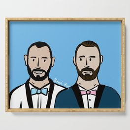 Beard Boy: Albert & Lucho Serving Tray