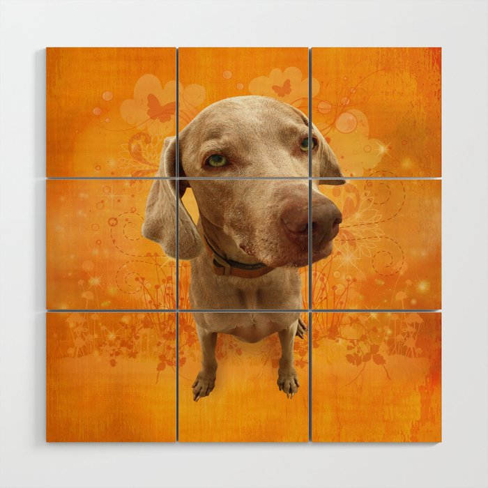 PARKER POSEY (tang) puffy cloud series Wood Wall Art