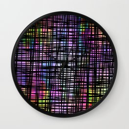 Colorful striped DP035-5 Wall Clock