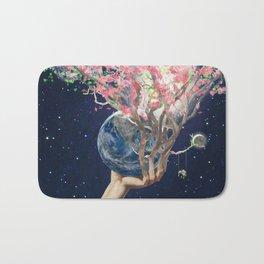 Love Makes The Earth Bloom Bath Mat