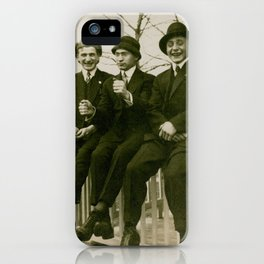 Harry, Herbert and Horace iPhone Case