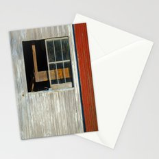 Barn window Stationery Cards