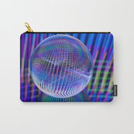 Criss Cross lights in the ball Carry-All Pouch