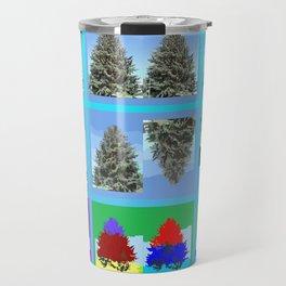 Field of Tree Travel Mug