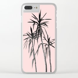 Palm Trees - Blush Cali Summer Vibes #1 #decor #art #society6 Clear iPhone Case