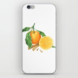 Tangerines and spices iPhone Skin