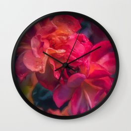 Rose 423 Wall Clock