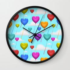 Love is in the Air! Wall Clock