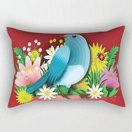 BIRD Pop Art Rectangular Pillow