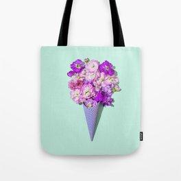 Flower Flurry II Tote Bag