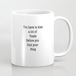 Tongue Tied Proposal Coffee Mug