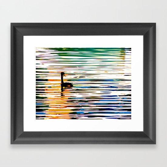 Chillin' Framed Art Print