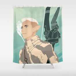Nuala Lavellan Shower Curtain