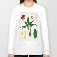 musa Long Sleeve T-shirts featuring Musa Paradisiaca by plantage