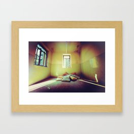 The Light over the past Framed Art Print