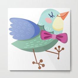 Cute Bird Metal Print