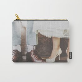 Vintage Swing Couple Shoes Carry-All Pouch