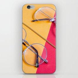 Retro Glasses iPhone Skin