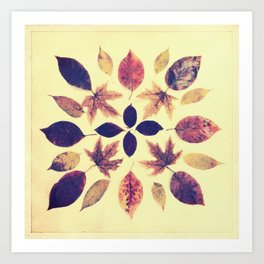 Leafdala Art Print