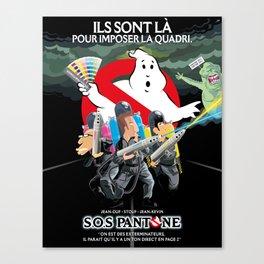 SOS Pantone Canvas Print
